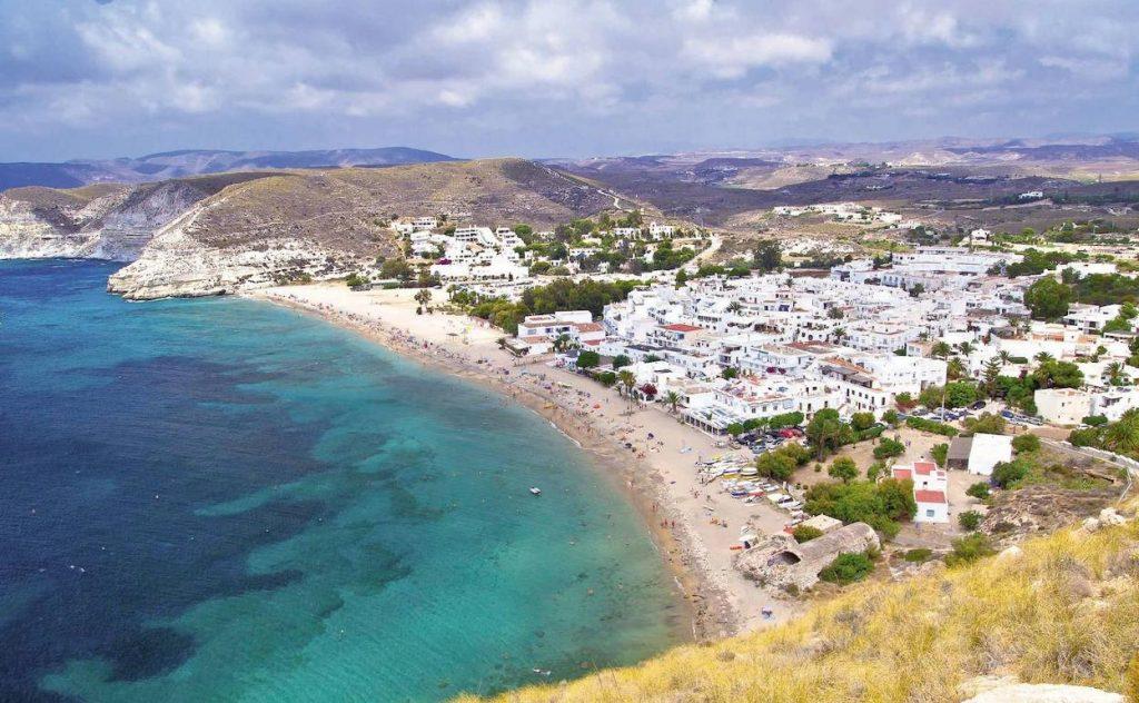 Playa De Aguamarga Pueblo Cabo De Gata Nijar Almerai