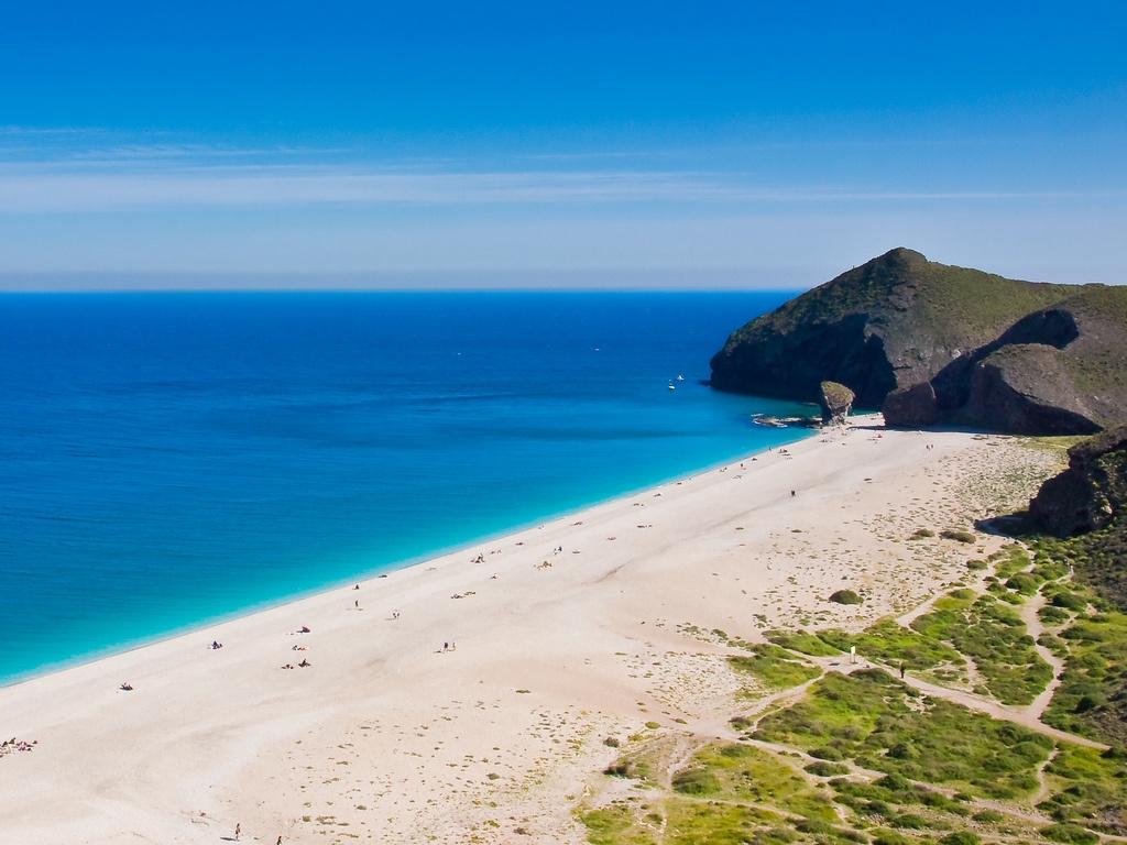 Playa De Los Muertos Carboneras Cabo De Gata Almeria 1