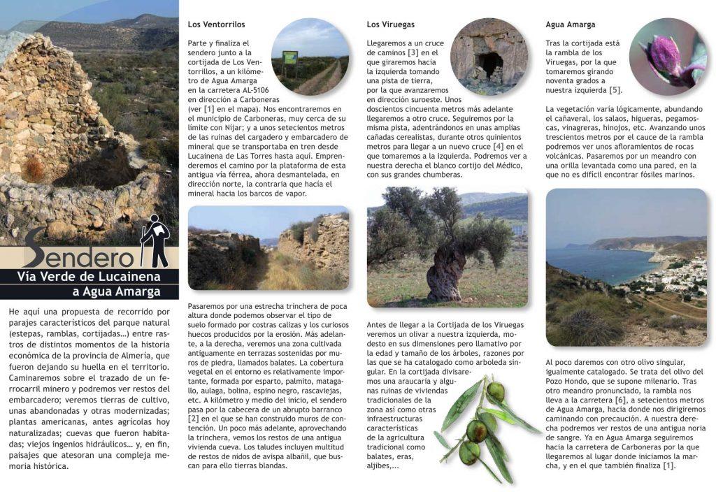 Sendero 2 Via Verde Lucainena Aguamarga Cabo De Gata Almeria