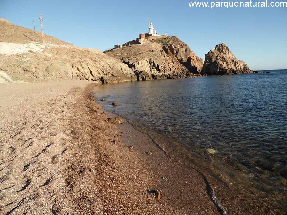 Aerea Playa Ancon Corralete Cabo De Gata Almeria