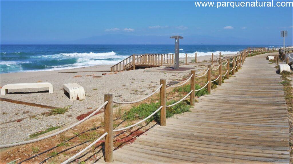 Barco Playa La Fabriquilla Cabo De Gata Almeria