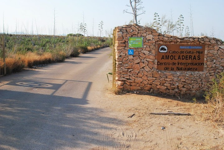 Entrada Centro De Las Amoladeras Cabo De Gata Almeria
