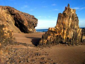 Formaciones Basalticas Cala Grande Cabo De Gata Nijar Almeria 300x225