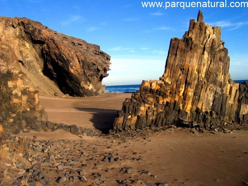 Formaciones Basalticas Cala Grande Cabo De Gata Nijar Almeria