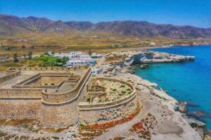 Fortificacion Costa Castillo San Felipe Los Escullos Cabo De Gata Almeria 300x199