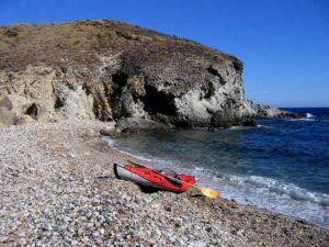 Kayak Cala Montoya Cabo De Gata Almeria 1 300x225