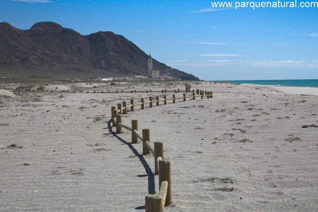 Pasarelas Playa Almadraba De Monteleva Cabo De Gata Almeria