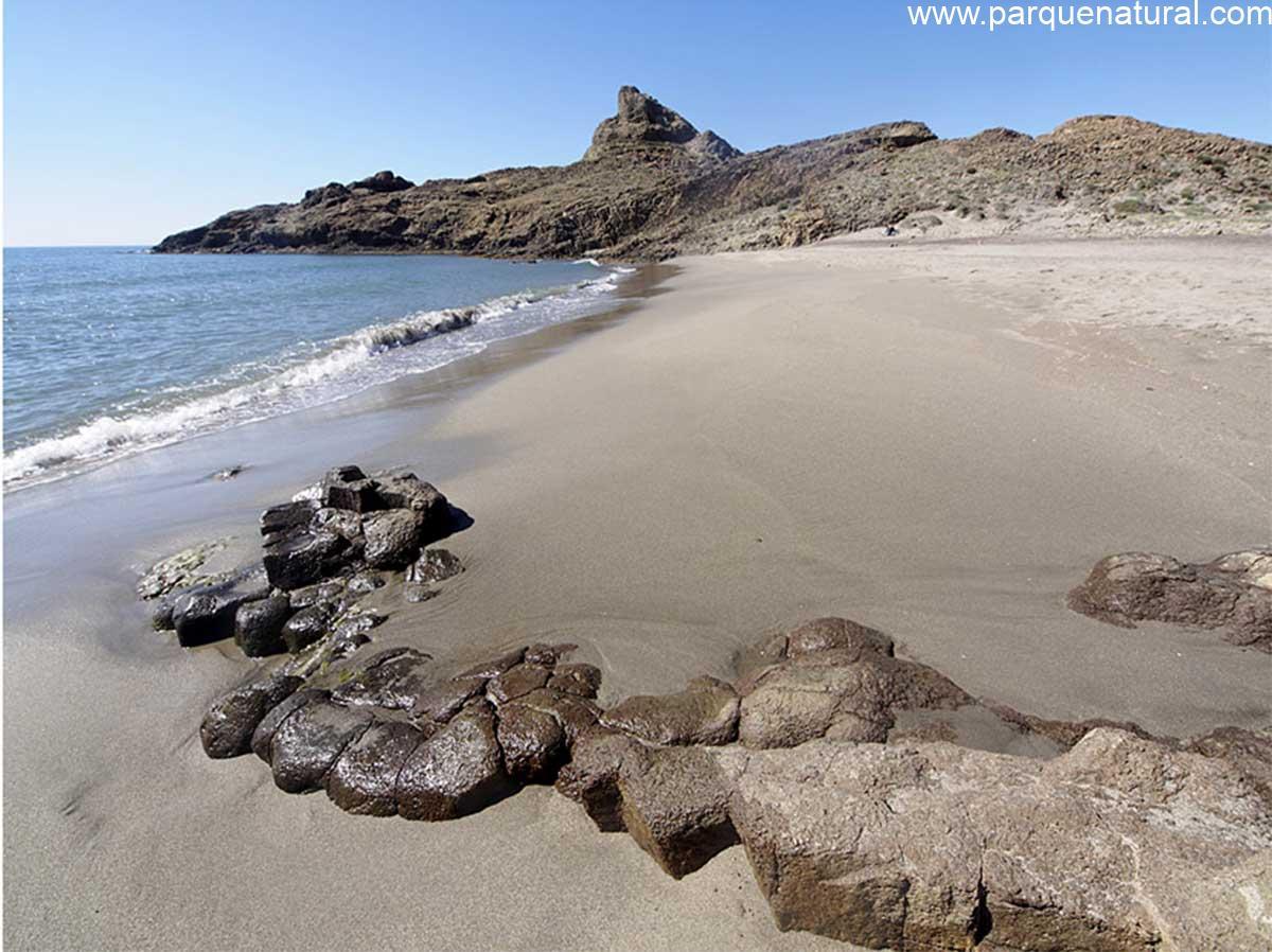 Piedras Cala Arena Cabo De Gata Almeria