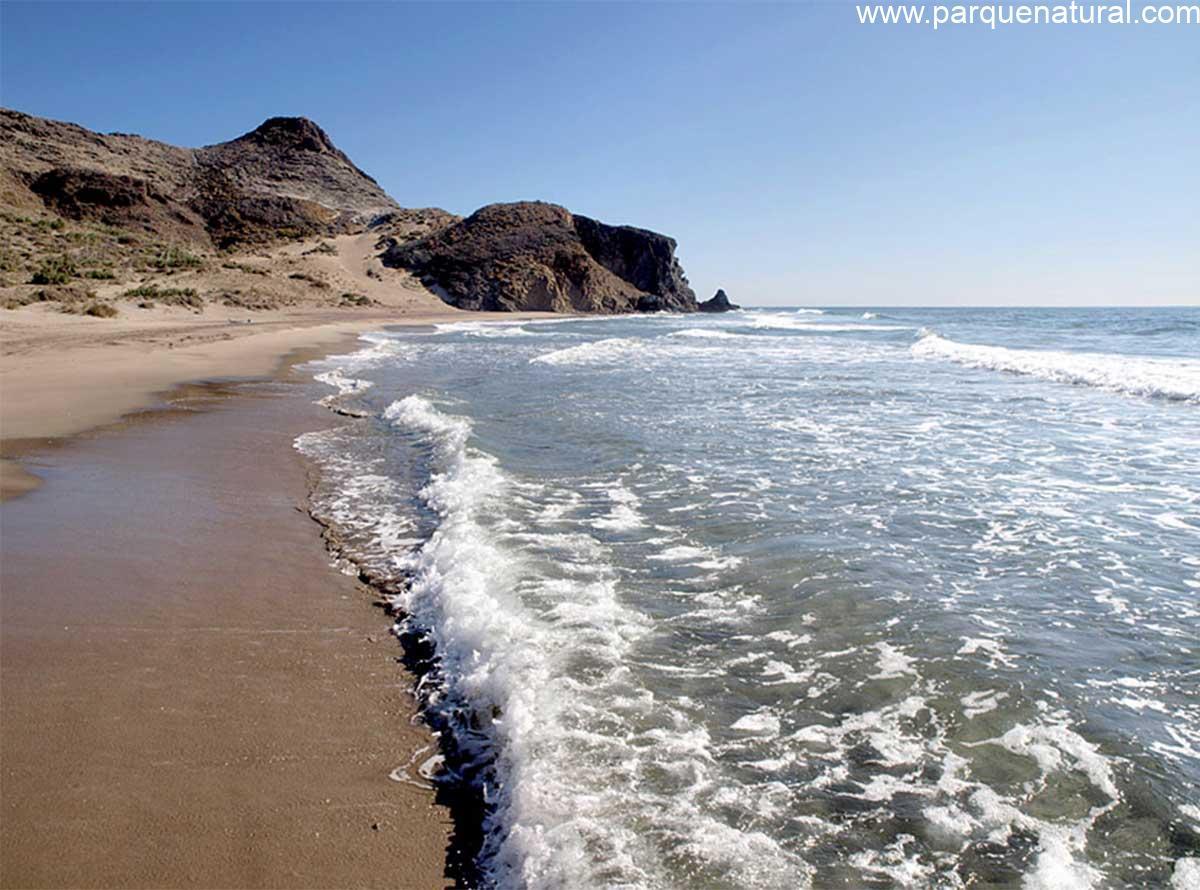 Playa Cala Barronal Cabo De Gata Almeria