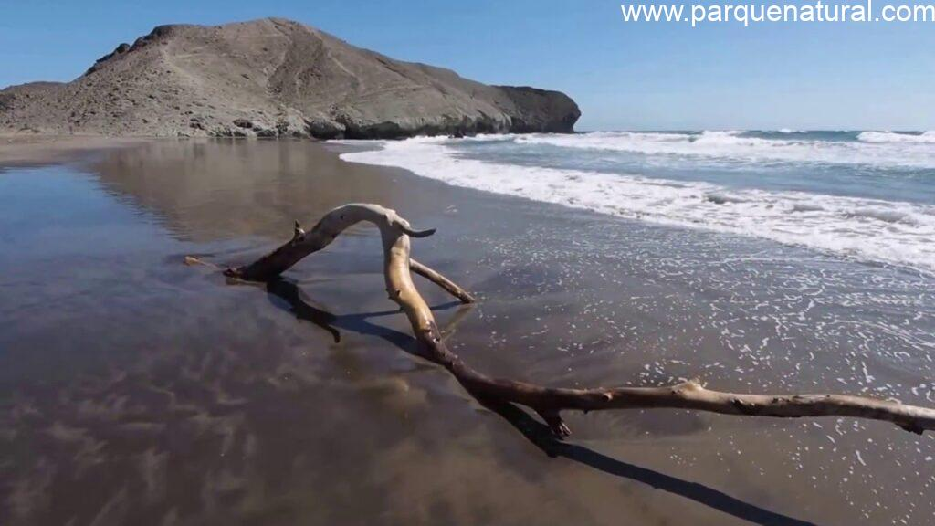 Playa Medialuna Cabo De Gata Almeria