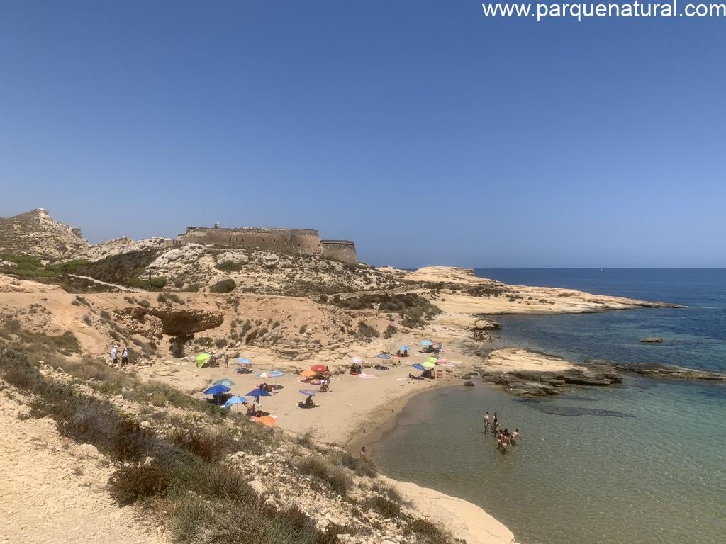 Playa Playazo Rodalquilar Cabo De Gata Almeria