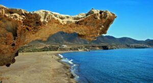 Saliente Duna Fosilizada Playa Arco Cabo De Gata Almeria 300x164