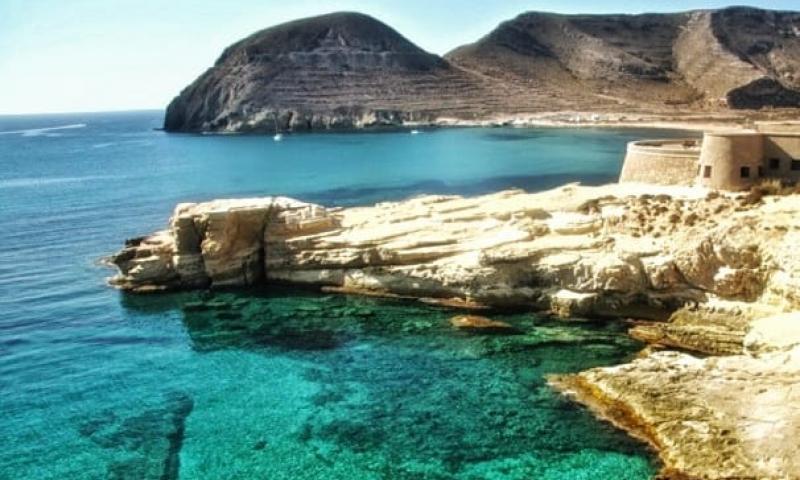 Senderismo Playazo Rodalquilar San Pedro Cabo De Gata Almeria