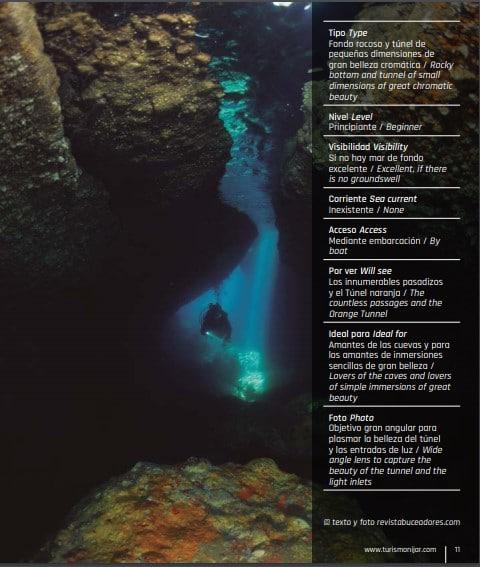 Guia de Buceo de Cabo de Gata