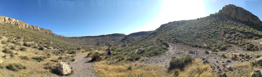 Entrada Volcan La Granatilla Nijar Senderismo