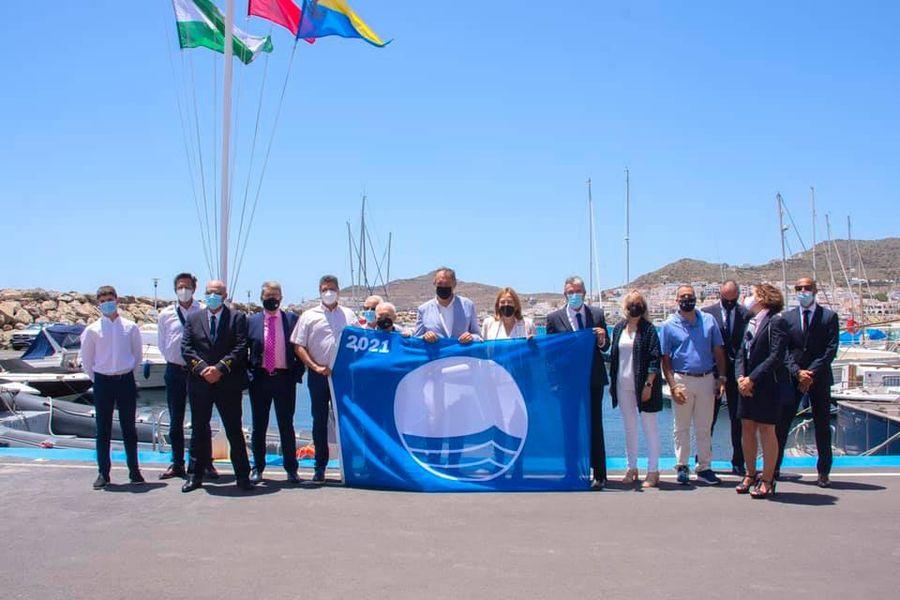 Bandera Azul Puerto San Jose Cabo Gata