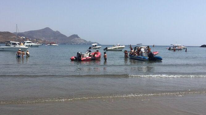 Junta baliza las playas de Cabo de Gata-Níjar (Almería) para proteger los ecosistemas y evitar accidentes náuticos