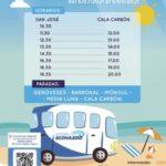 Servicio Autobus Playas Sanjose Genoveses Minsul Cala Carbon Cabo De Gata 150x150